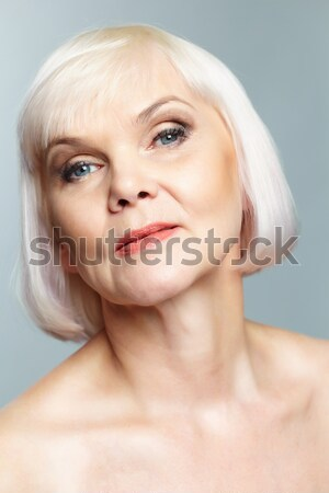 Portrait of mature lady Stock photo © pressmaster