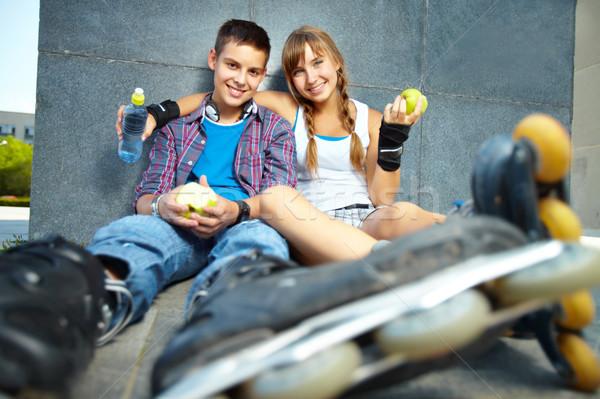 Roller skaters Stock photo © pressmaster