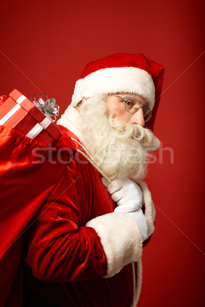 Stock photo: Carrying gifts