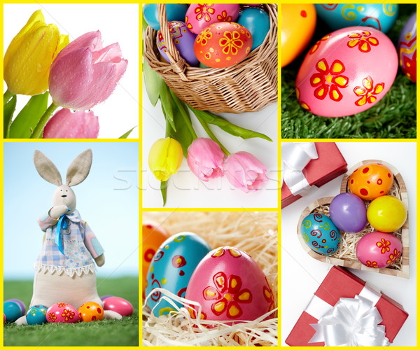 Easter symbols Stock photo © pressmaster