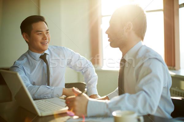 Explaining idea Stock photo © pressmaster
