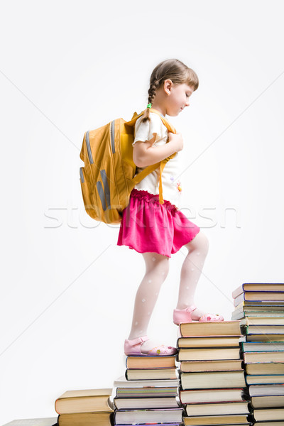 Book stairs Stock photo © pressmaster