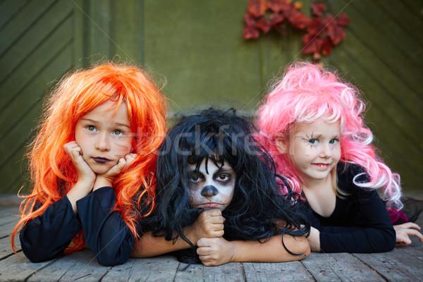 Spooky friends Stock photo © pressmaster