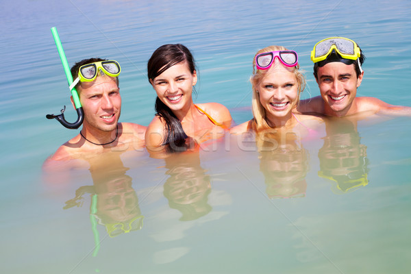 Joyful friends Stock photo © pressmaster