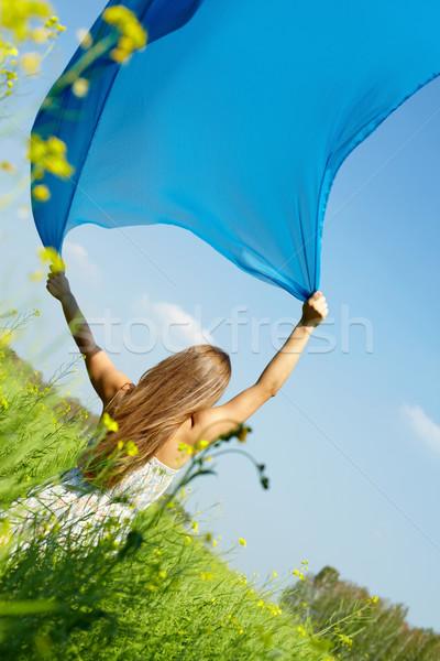 Catching wind Stock photo © pressmaster