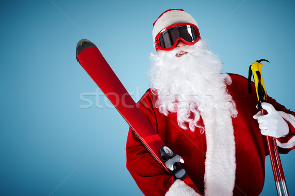 Sporty Santa Stock photo © pressmaster