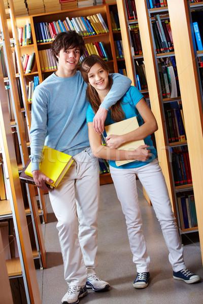 Cheerful schoolkids Stock photo © pressmaster