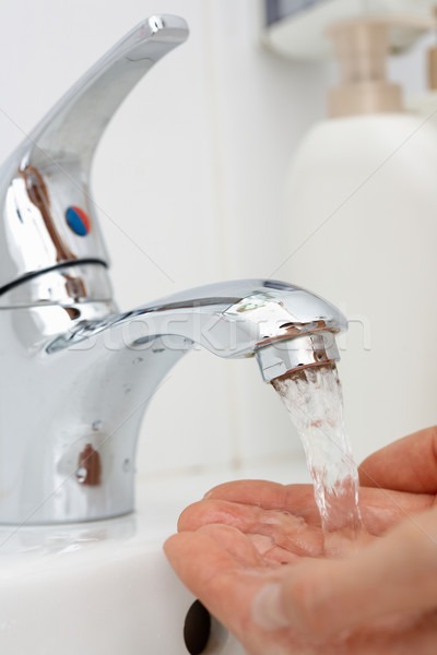 Washing hands Stock photo © pressmaster