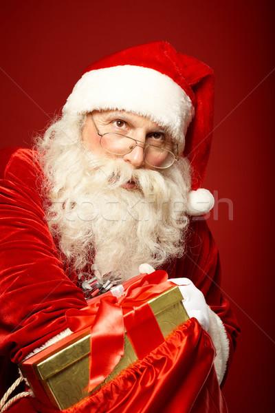 Distributing gifts Stock photo © pressmaster