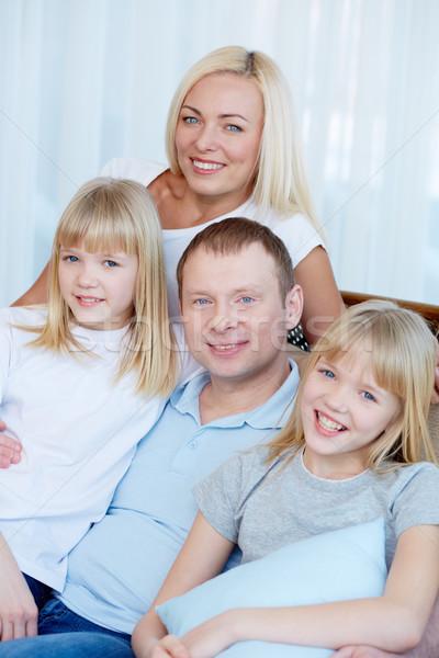 Loving family Stock photo © pressmaster
