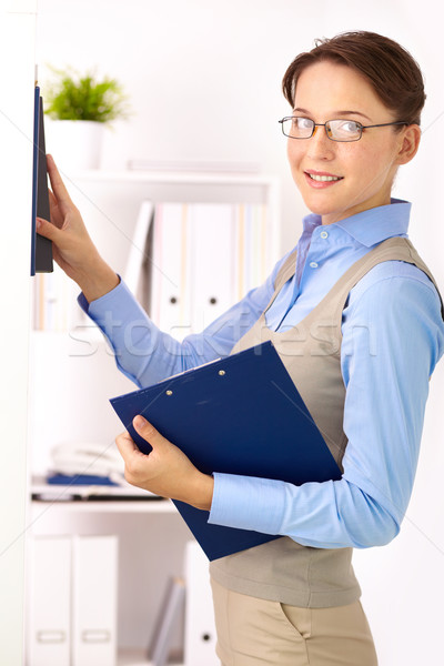 Business lady Stock photo © pressmaster