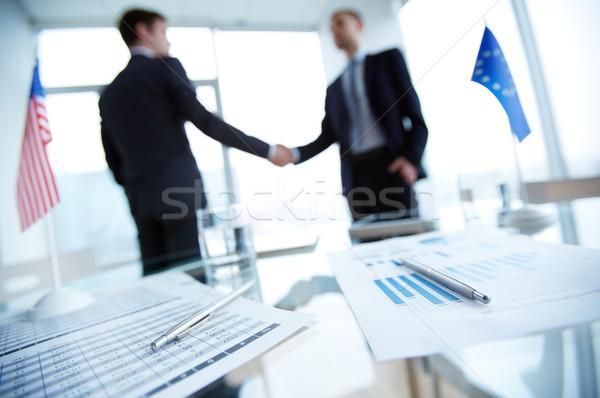 Deal Stock photo © pressmaster