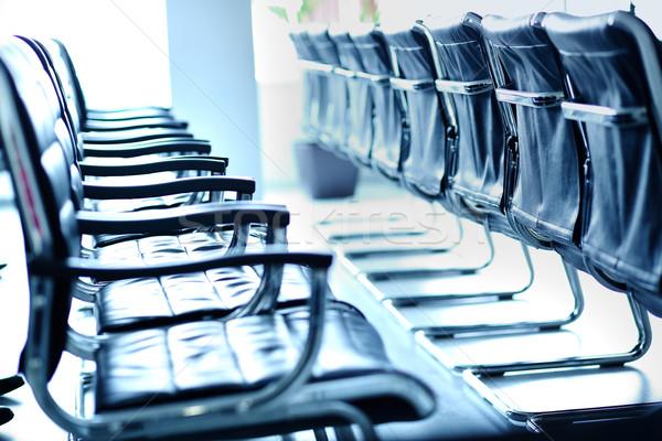 Stok fotoğraf: Sandalye · konferans · salon · iş · eğitim