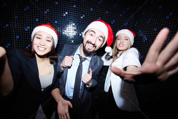 Business partners in night club Stock photo © pressmaster