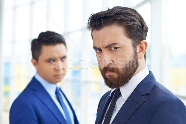 Businessman frowning Stock photo © pressmaster