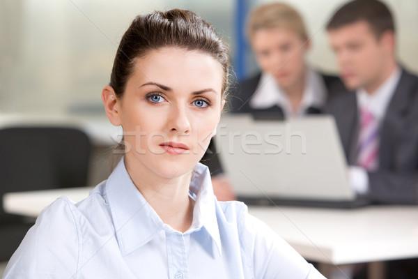 Serious woman Stock photo © pressmaster