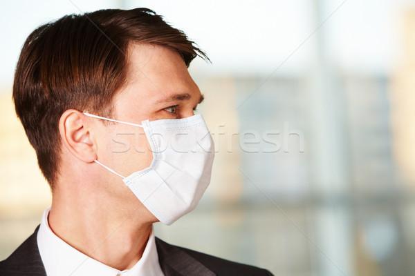 Man in mask Stock photo © pressmaster