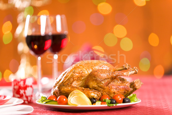 Roasted poultry Stock photo © pressmaster