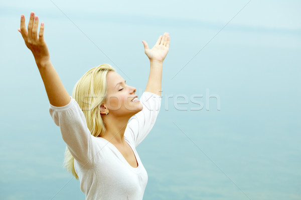 Stock photo: Enjoying freedom