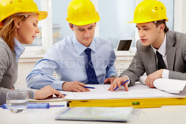 Architects at work  Stock photo © pressmaster