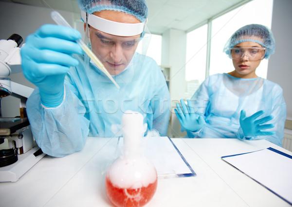 Chemical test Stock photo © pressmaster