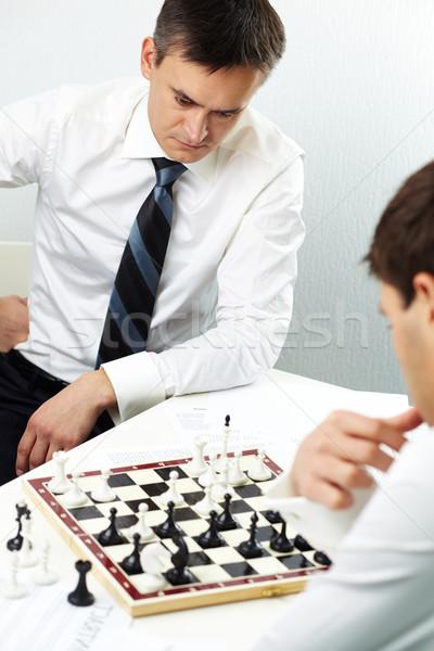 Thinking of next move Stock photo © pressmaster