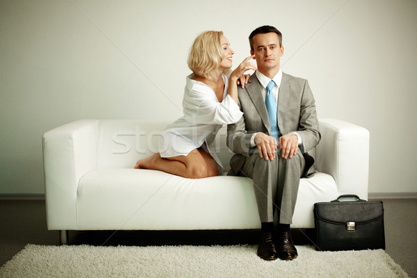 Teasing Stock photo © pressmaster