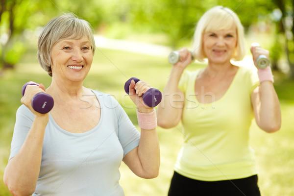 Fitness outdoors Stock photo © pressmaster