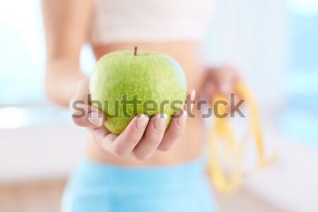 Apple diet Stock photo © pressmaster