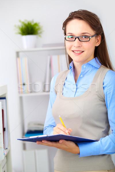 Office girl Stock photo © pressmaster
