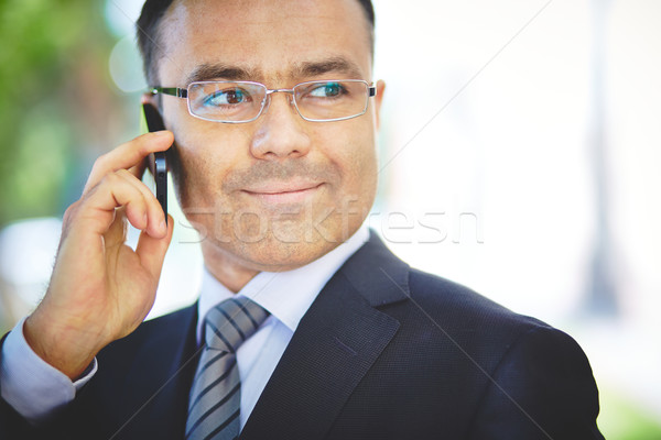 Calling a colleague Stock photo © pressmaster