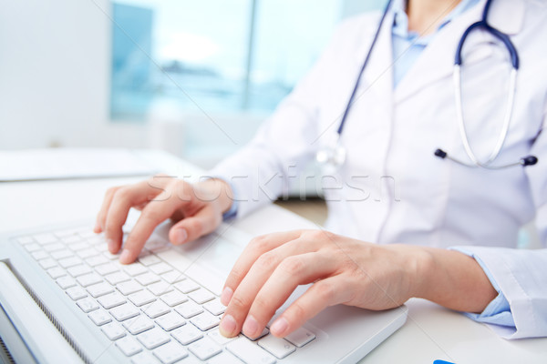 Stock photo: Modern medical person