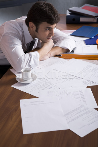 Get tired with hard working Stock photo © pressmaster