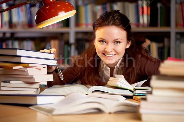 Happy teacher Stock photo © pressmaster