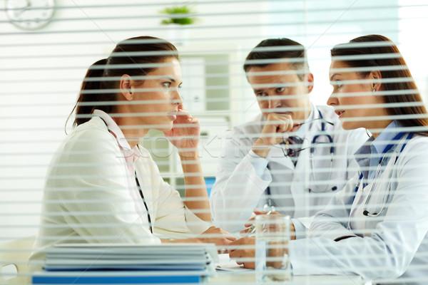 Сток-фото: медицинской · консультация · портрет · Consulting · пациент · служба