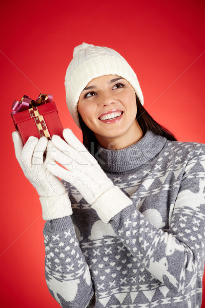 Gift guessing Stock photo © pressmaster