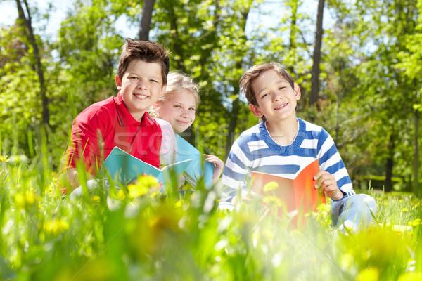 Restful kids  Stock photo © pressmaster