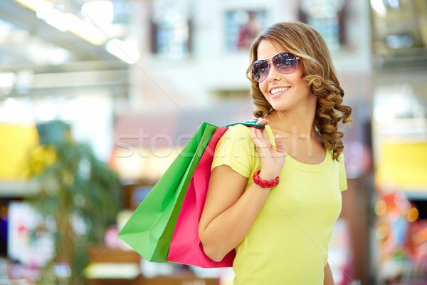 Carefree buyer Stock photo © pressmaster