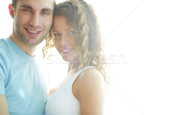 Sunny couple Stock photo © pressmaster