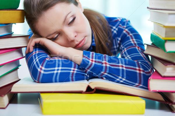 Exhausted Stock photo © pressmaster