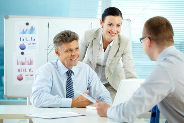 бизнеса единения деловые люди лучше Сток-фото © pressmaster
