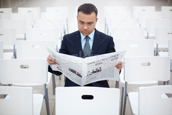 Reading news Stock photo © pressmaster