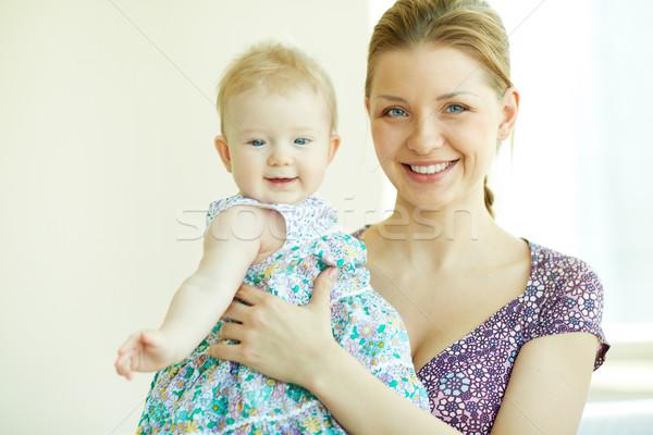 女子 女兒 家庭 快樂 母親 商業照片 © pressmaster