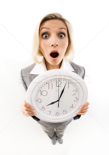 It is late! Stock photo © pressmaster
