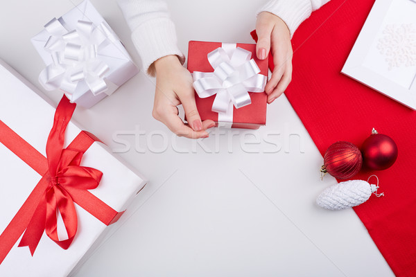 Christmas gifts Stock photo © pressmaster