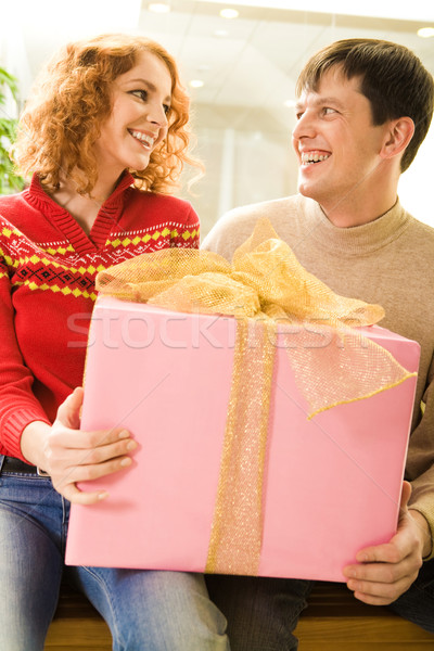 Whose gift is it? Stock photo © pressmaster