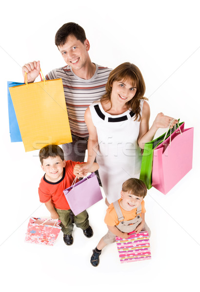 Family shopping Stock photo © pressmaster