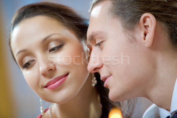 Casal imagem homem bonito bela mulher mulher Foto stock © pressmaster