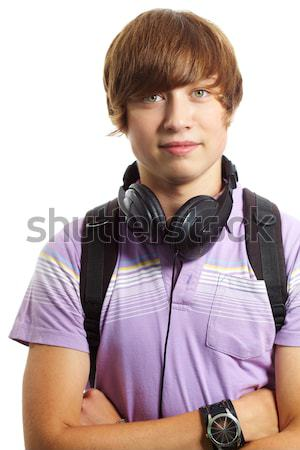Teenage lad Stock photo © pressmaster