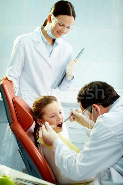 Usual check-up Stock photo © pressmaster